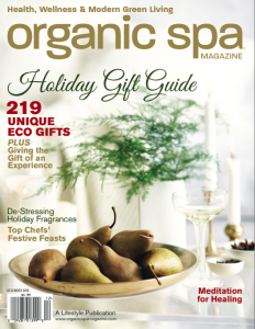 Organic Spa Magazine Holiday Gift Guide